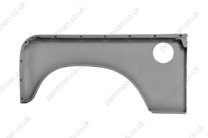 347474 Landrover Series 3 LHD Front Wing Outer Skin RH