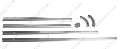 Land Rover Series and Defender Rear Window Fitting Kit 2