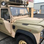 Paintman 130 Land Rover