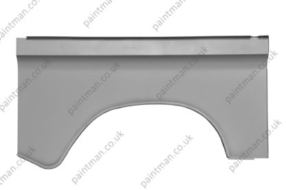 """MTC5365 Land Rover Series 2, 3 SWB 88""""- LH Rear Wing Outer Skin"""