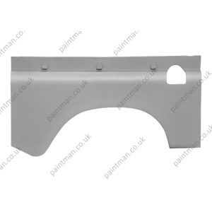 MTC5366 88 Rear Wing Outer Skin with fuel filler hole RH