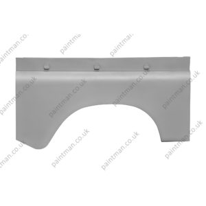 330295 SWB Rear Wing Outer Skin without fuel filler hole RH