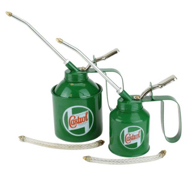 Castrol Classic Oil Cans